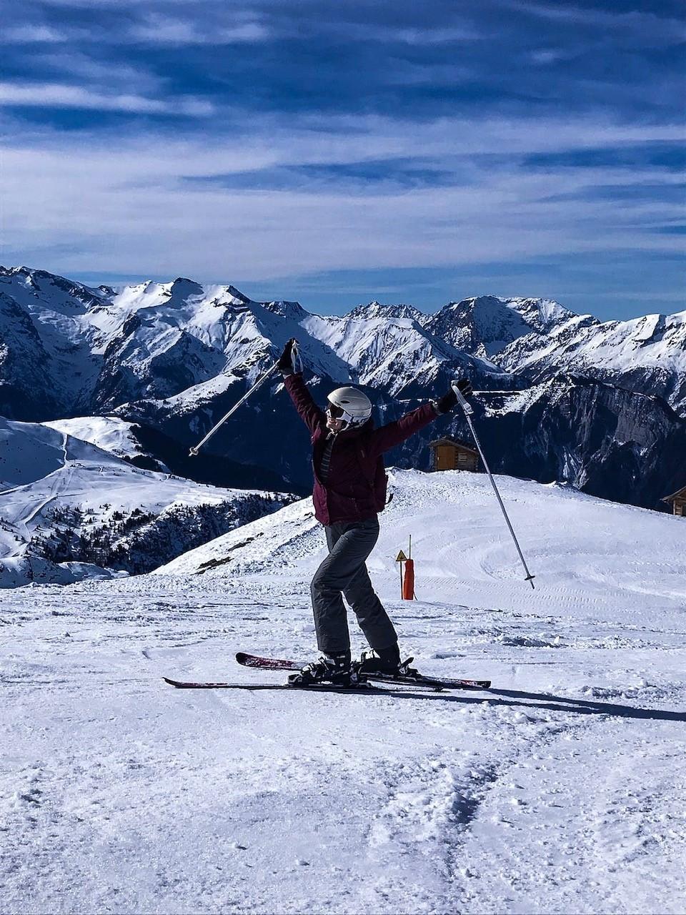 photo ski